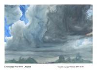 Cloudscape west from Croydon