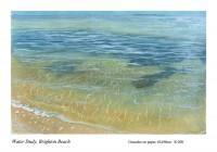 Water Study, Brighton Beach. Sold